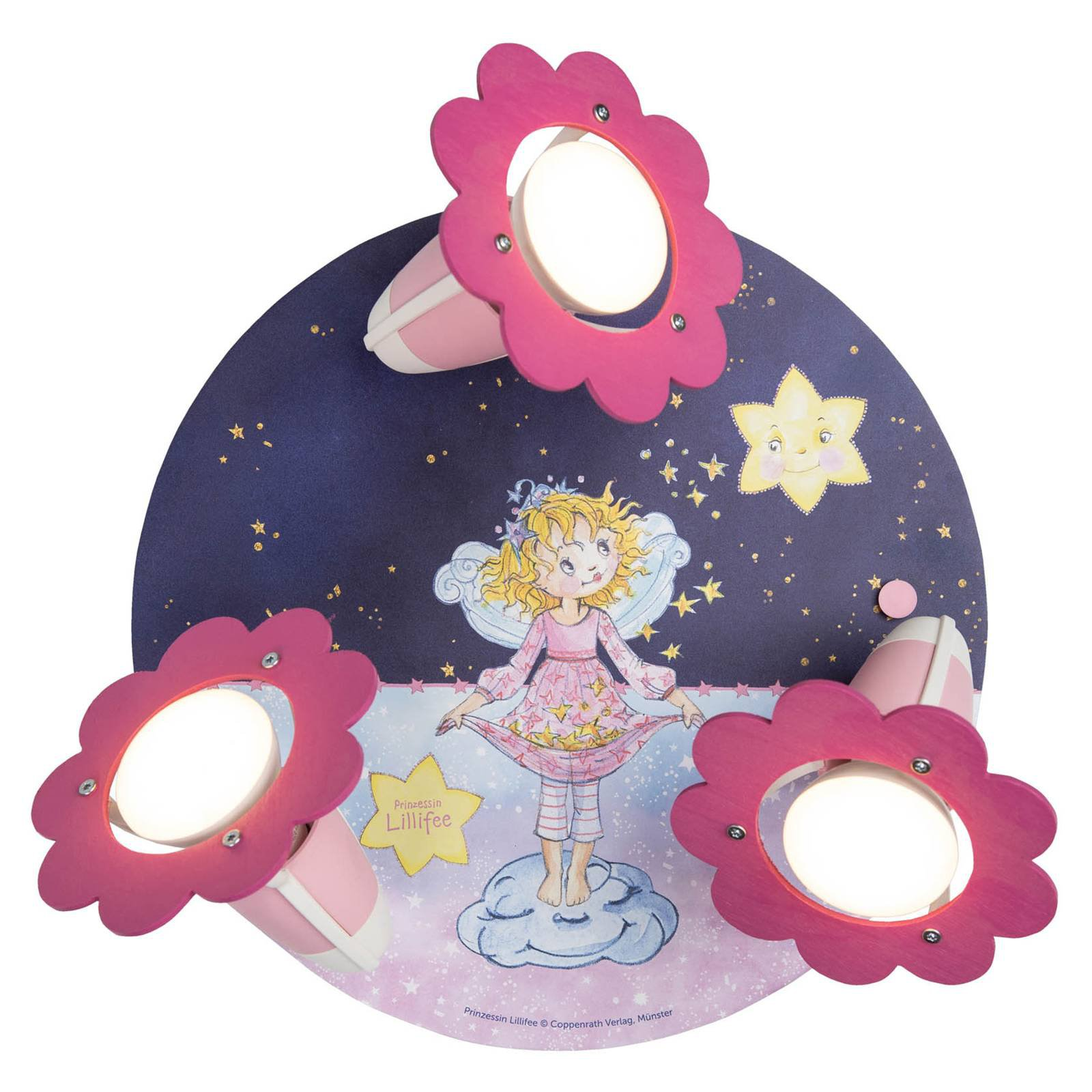 Taklampe Prinsesse Lillifee, stjerner