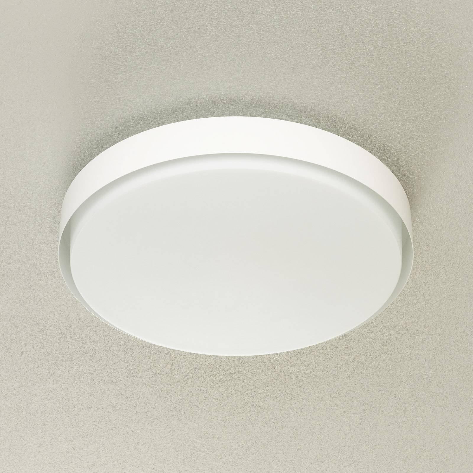 BEGA 12165 LED-taklampe hvit, Ø 50 cm, DALI