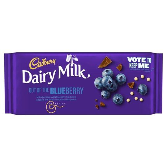 Cadbury Dairy Milk Inventor Blueberry 105g