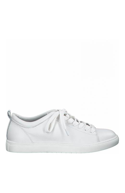 Tamaris Sneakers i skinn Vit