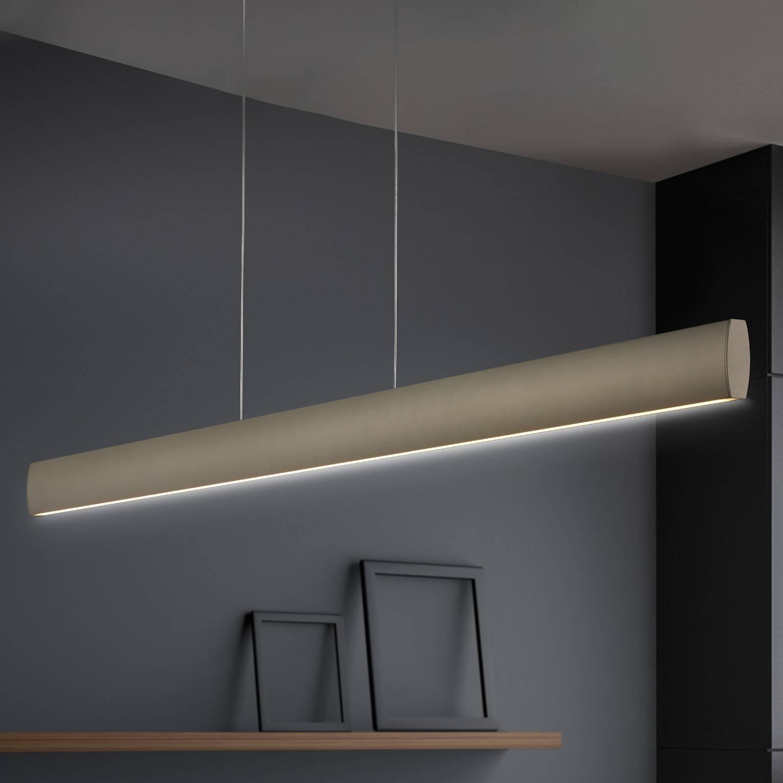 LED-riippuvalaisin Runa, pronssi, pituus 92 cm