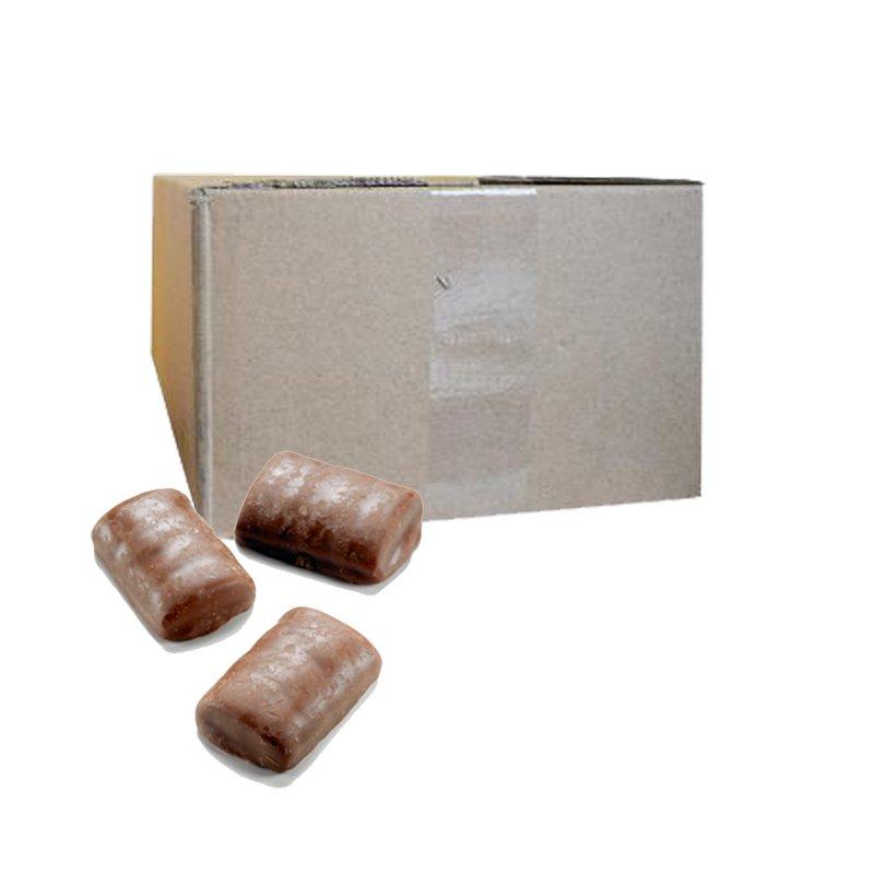 "Hel Låda Godis ""Milk Chocolate Fudgies"" 4kg - 67% rabatt"