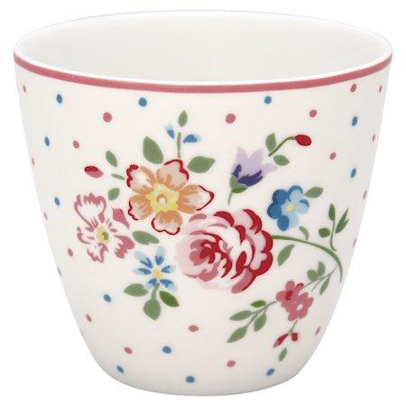 Belle Latte Cup Hvit