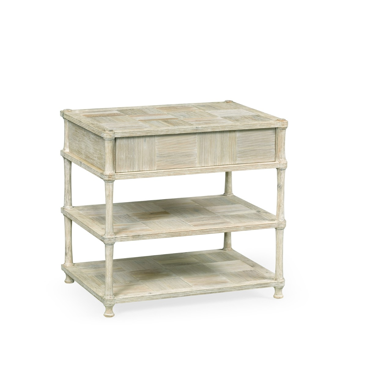 William Yeoward | Bywater Side Table With Drawer Washed Acacia