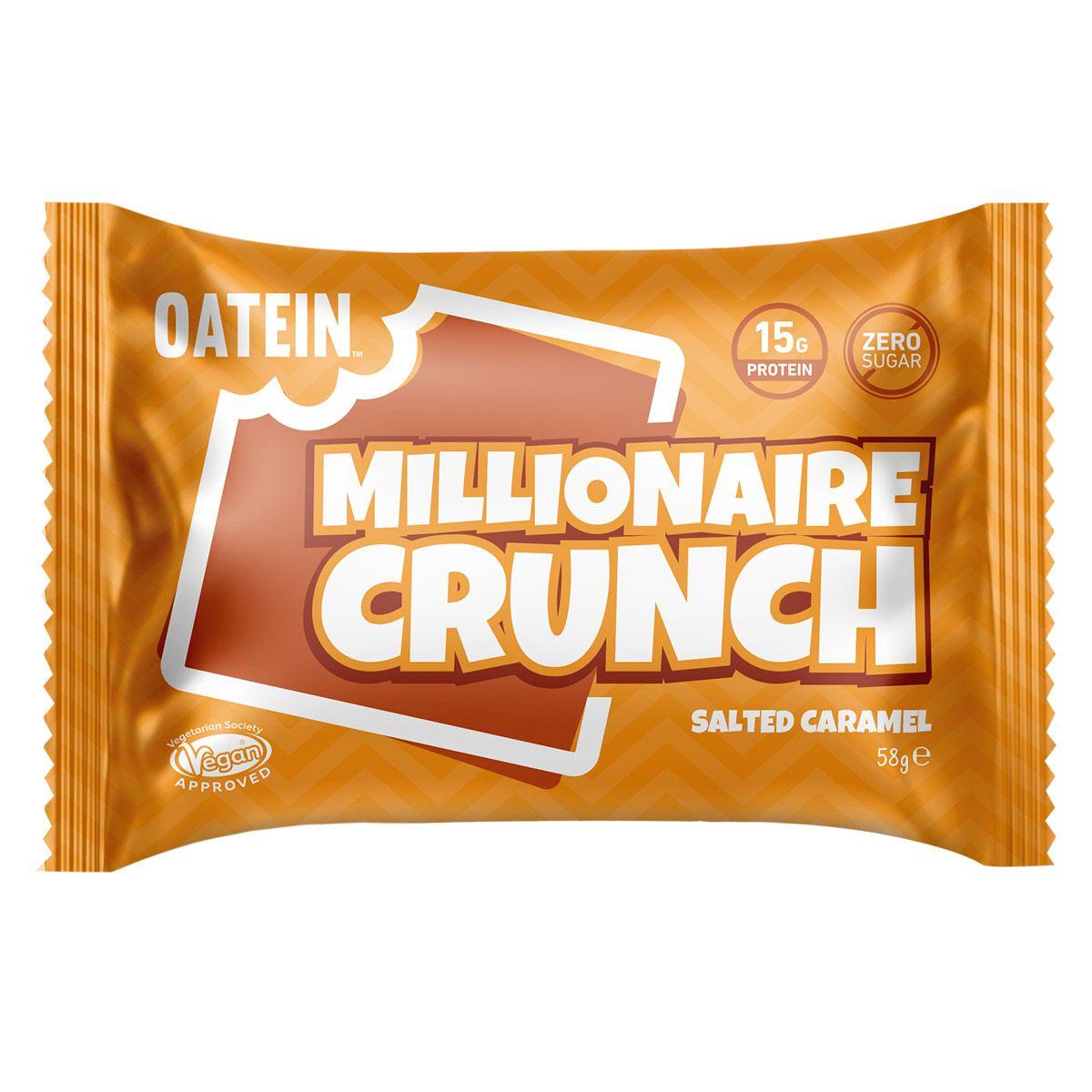 Oatein Millionaire Crunch - Salted Caramel 58g
