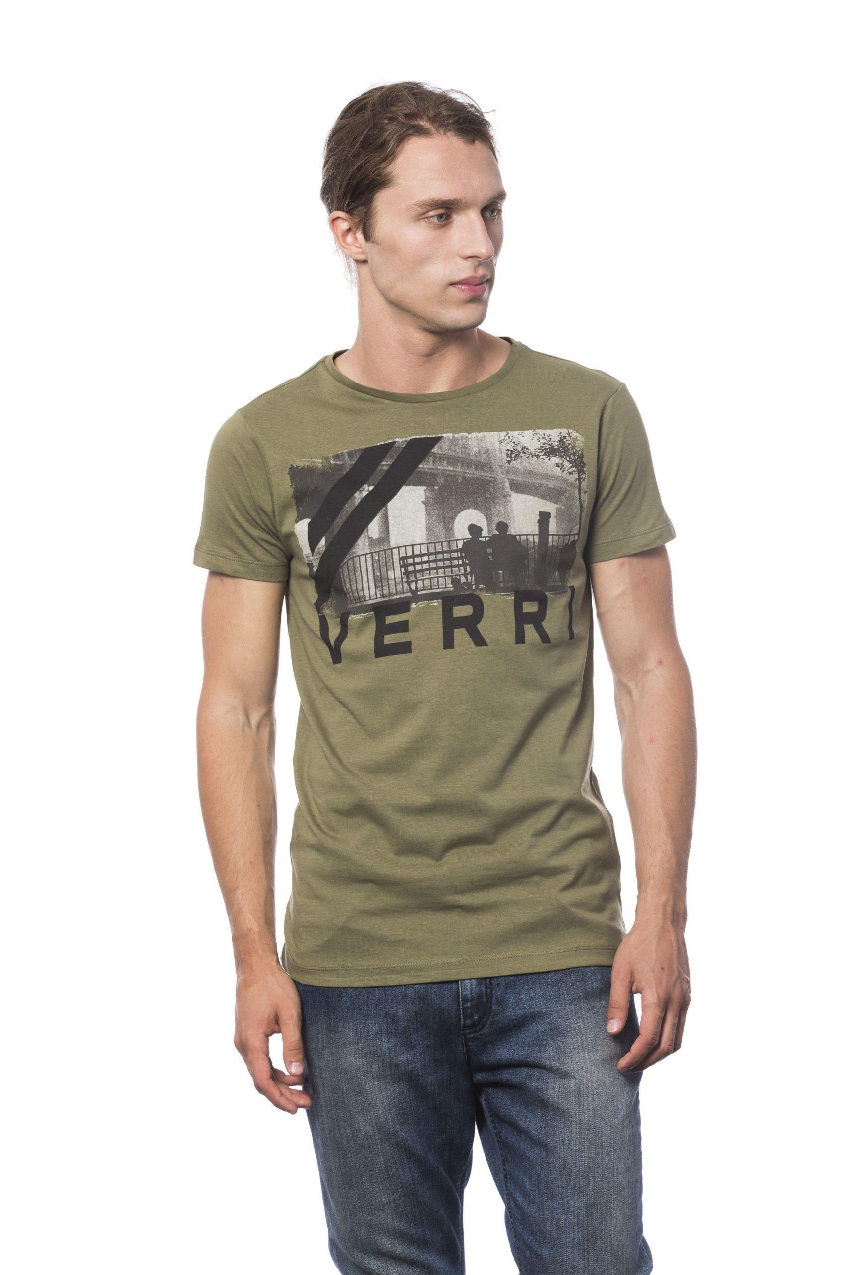 Verri Men's Army T-Shirt Gray VE682813 - S