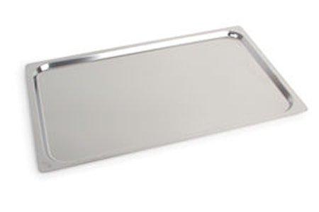 Brett rustfritt stål 53x32,5 cm