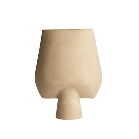 Sphere Kvadratisk Vase Stor - Sand