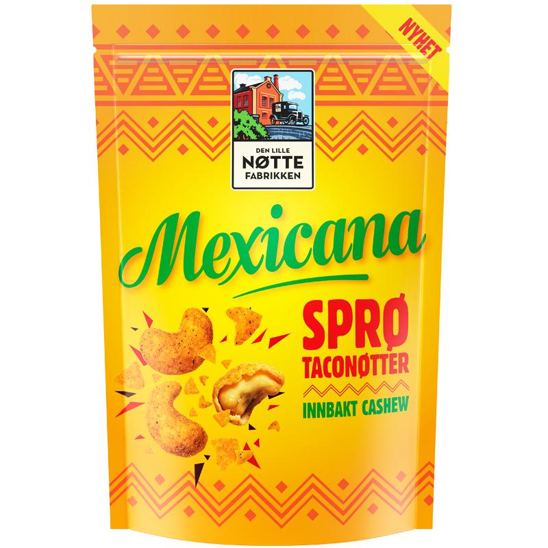 Cashewnötter Taco - 57% rabatt