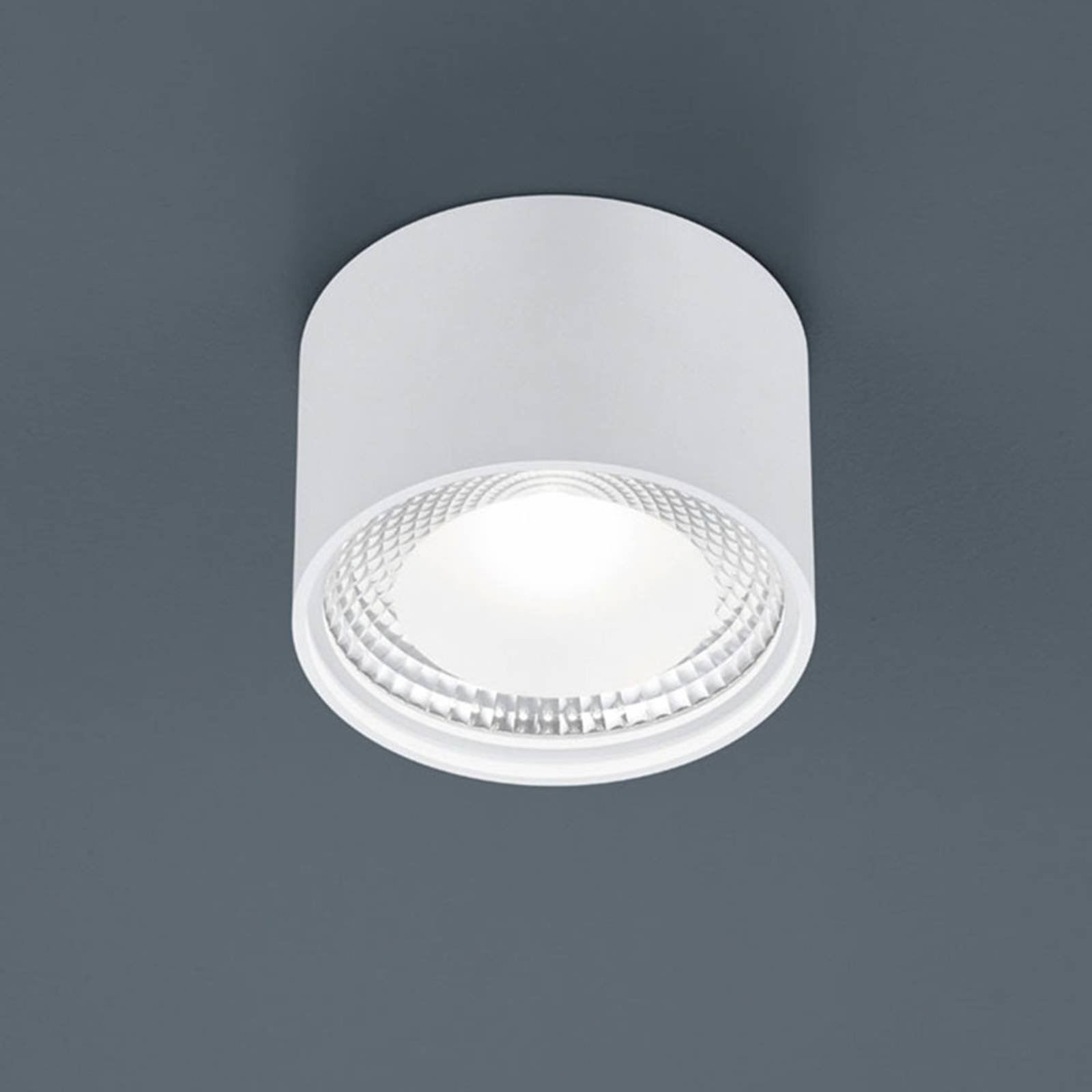 Helestra Kari LED-taklampe, rund, hvit
