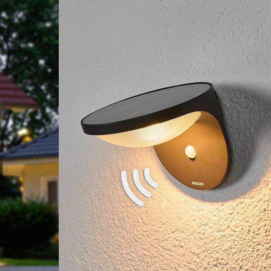 Dusk-LED-ulkoseinävalaisin liiketunnistimella