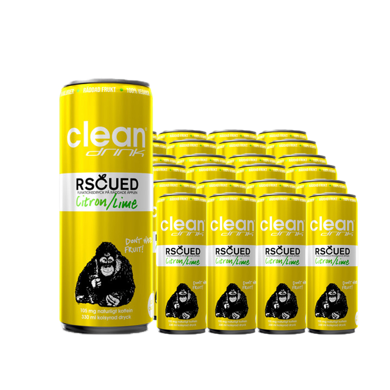 Funktionsdryck Citron & Lime 24-pack - 58% rabatt