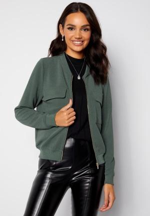Happy Holly Maya pocket jacket Dusty green 36/38