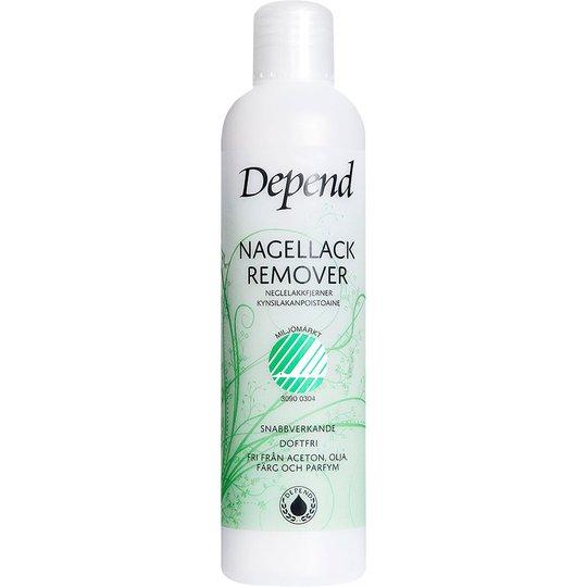 Depend Ecolabel Nail Polish Remover, 250 ml Depend Kynsilakanpoistoaineet