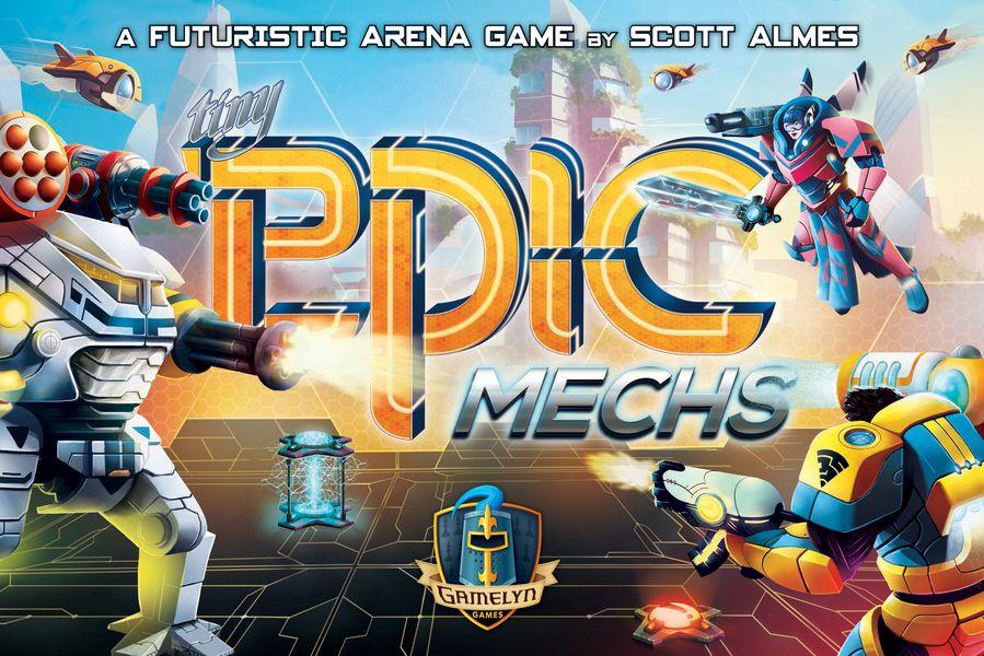 Tiny Epic Mechs - Boardgame (English) (GLGTEM)