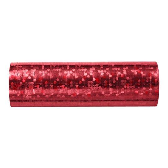 Serpentin Holografisk Röd