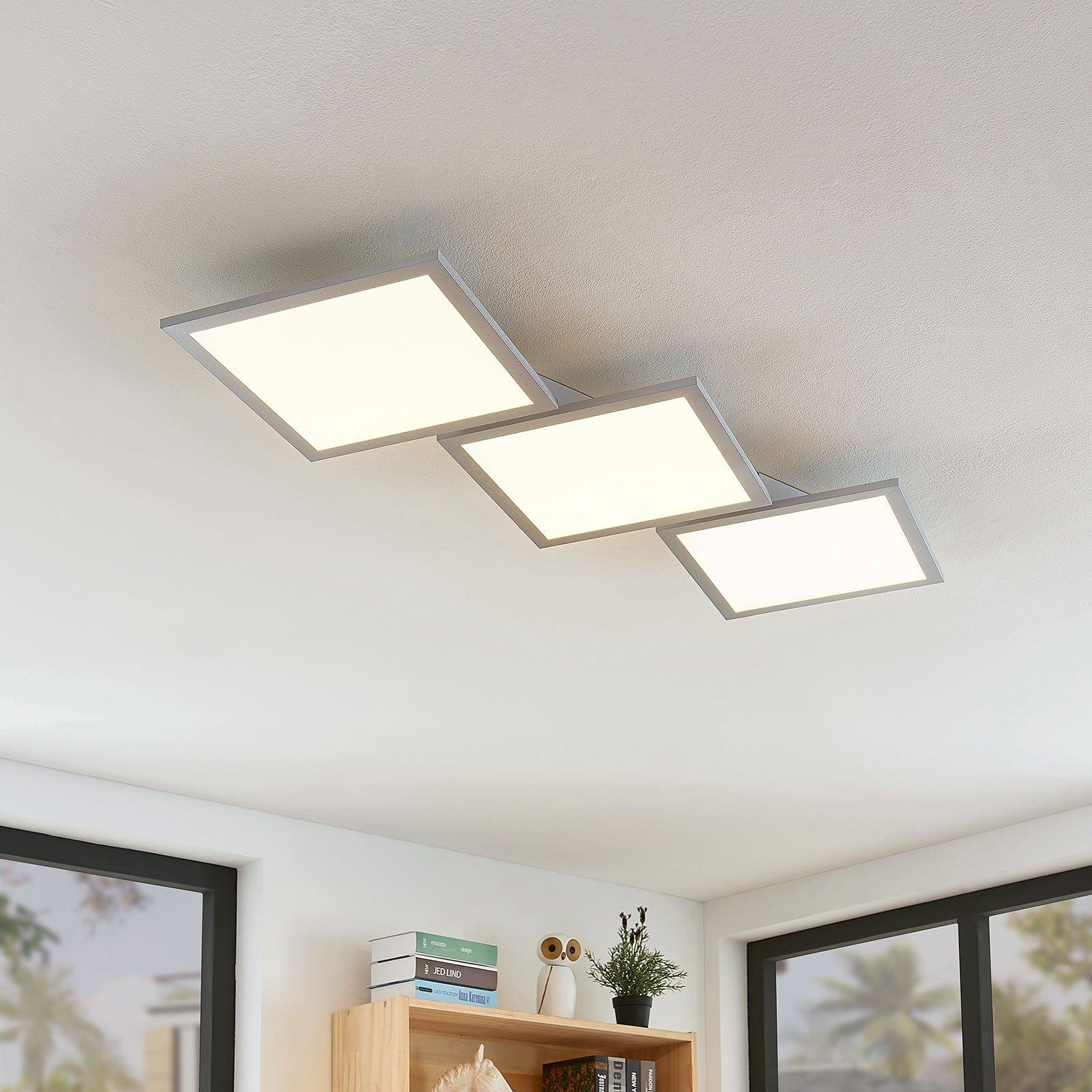 LED-taklampe Ilira, dimbar, CCT, 3 lyskilder