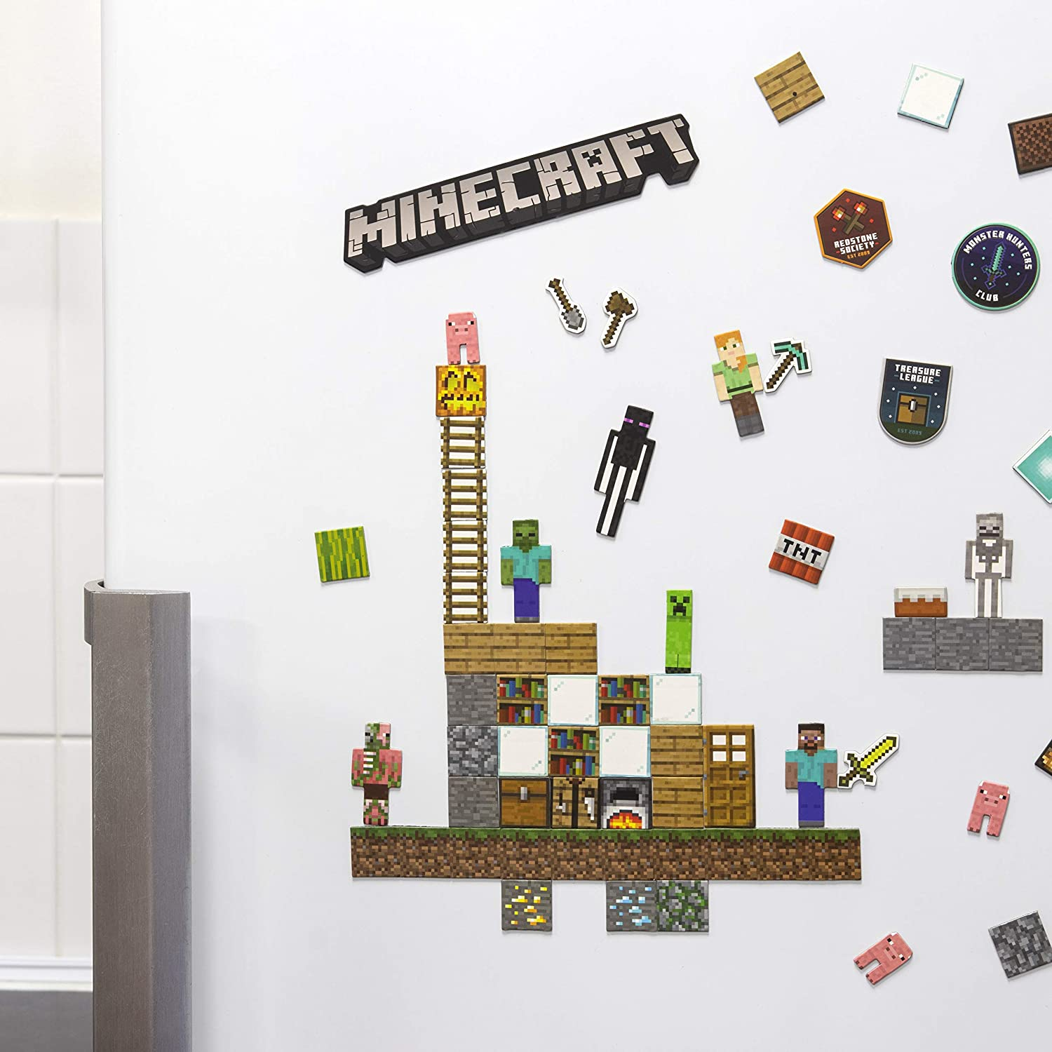 Minecraft Build a Level Magnets (PP6734MCF)