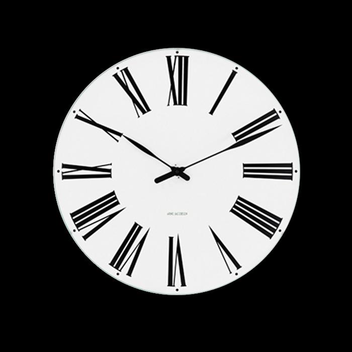Arne Jacobsen - Roman Wall Clock Ø 48 cm (43652)