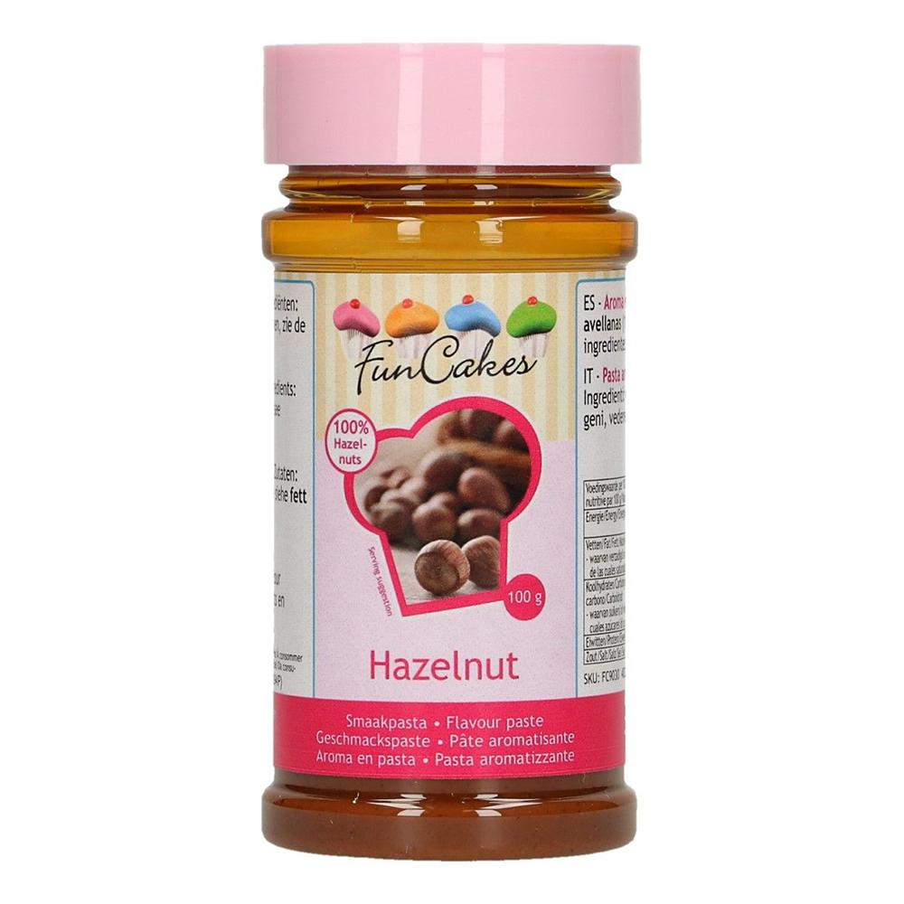 FunCakes Smaksättning Hazelnut - 100g