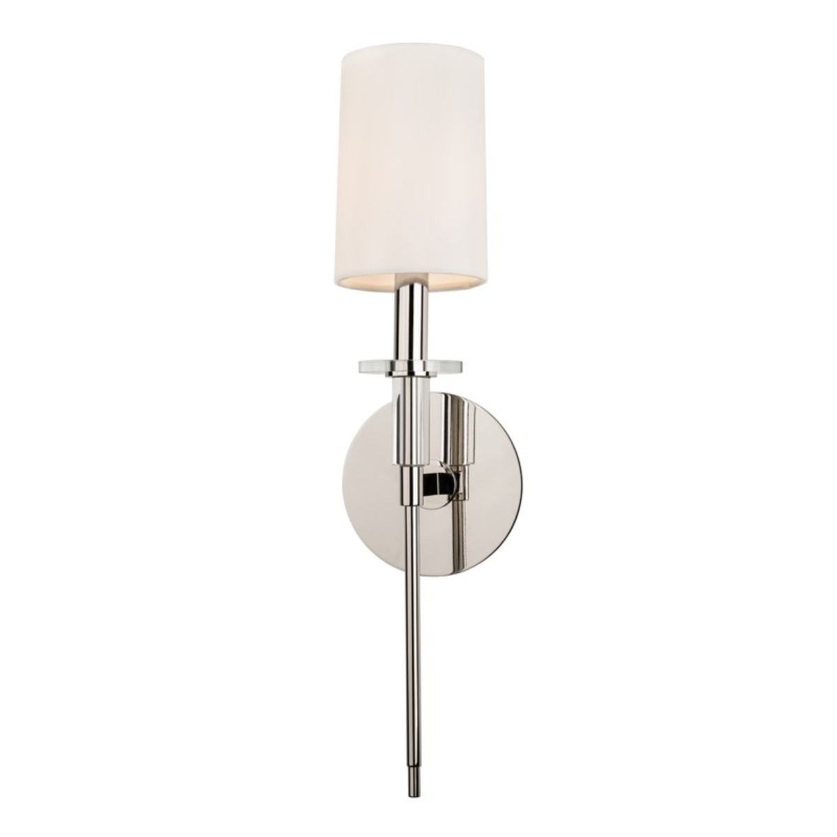 Hudson Valley   Amherst Wall Light   Polished Nickel