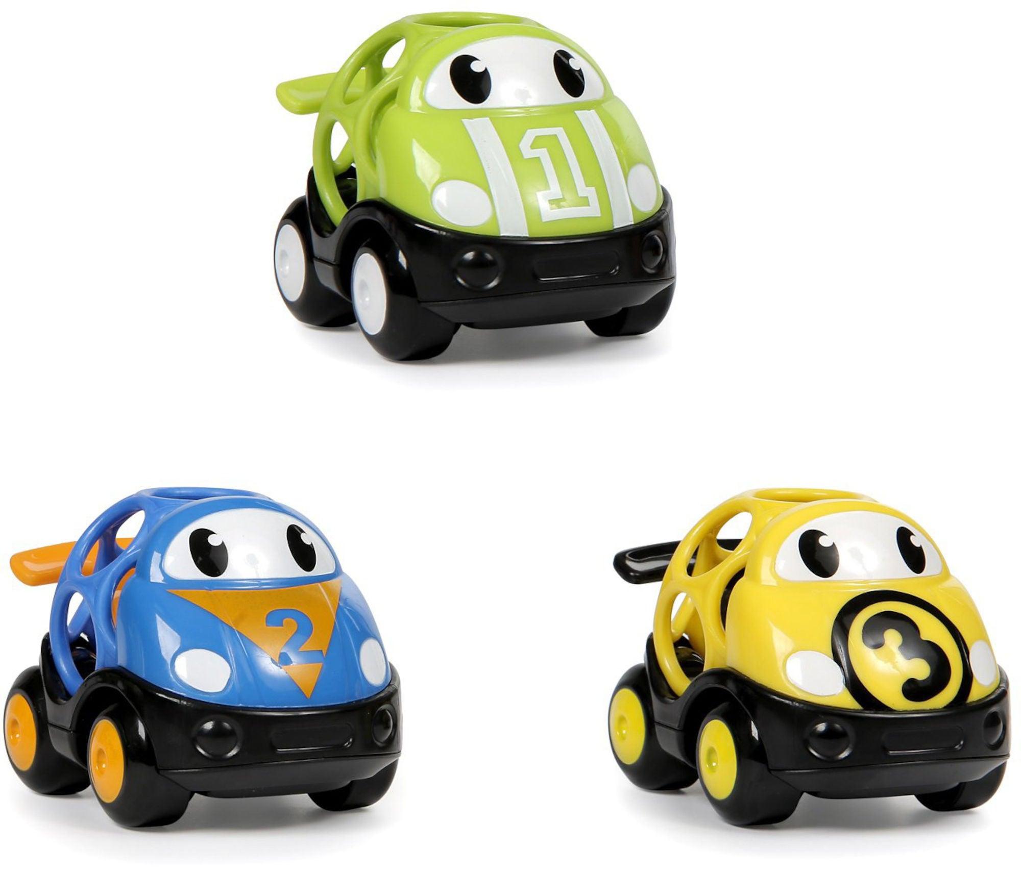 Oball Go Grippers Vehicles Aktivitetsleksak 3-pack