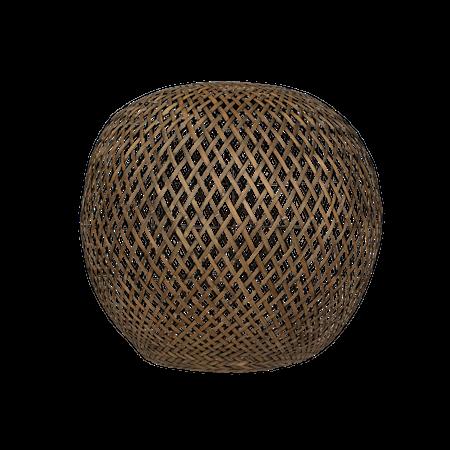 Nature Lampeskjerm Rund Bambu XL