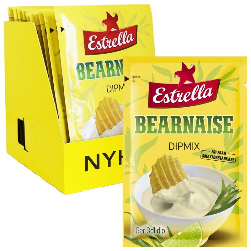 Kokonainen laatikko: Dipmix Bearnaise 18 x 24g - 90% alennus