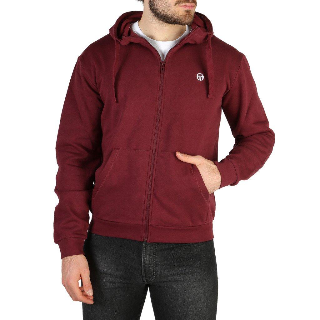 Sergio Tacchini Men's Sweatshirt Various Colours 103-10001 - red S