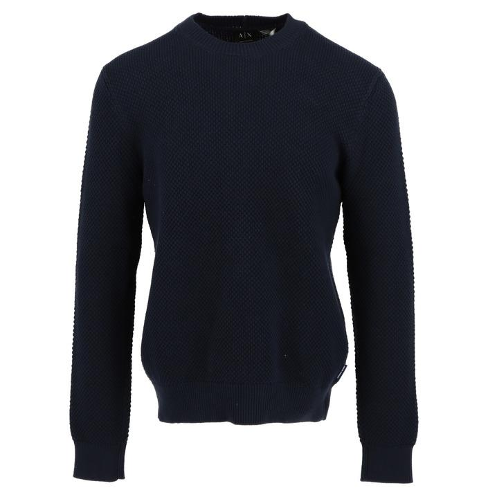 Armani Exchange Men's Sweater Blue 308399 - blue S
