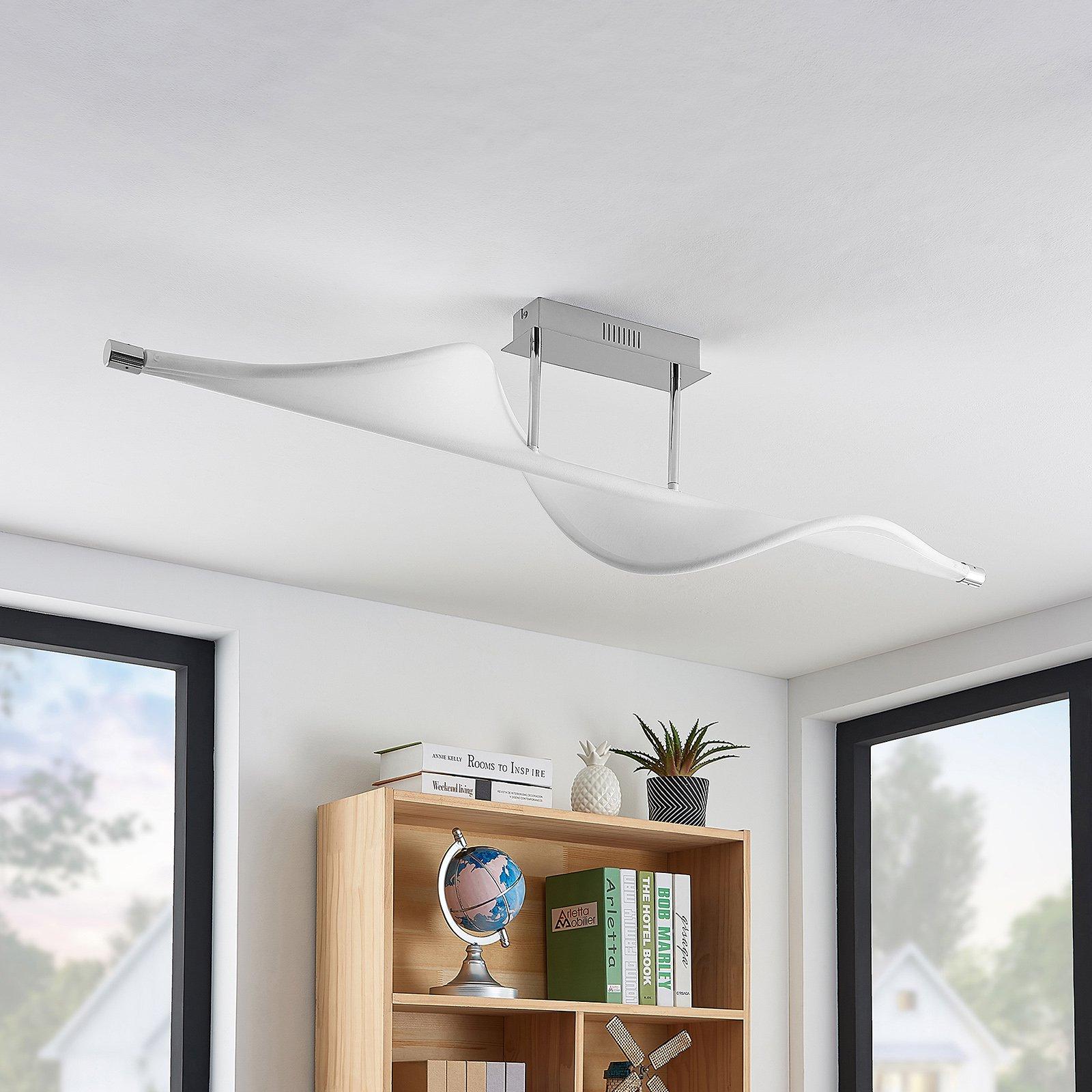 Lucande Edano LED-taklampe, dimbar