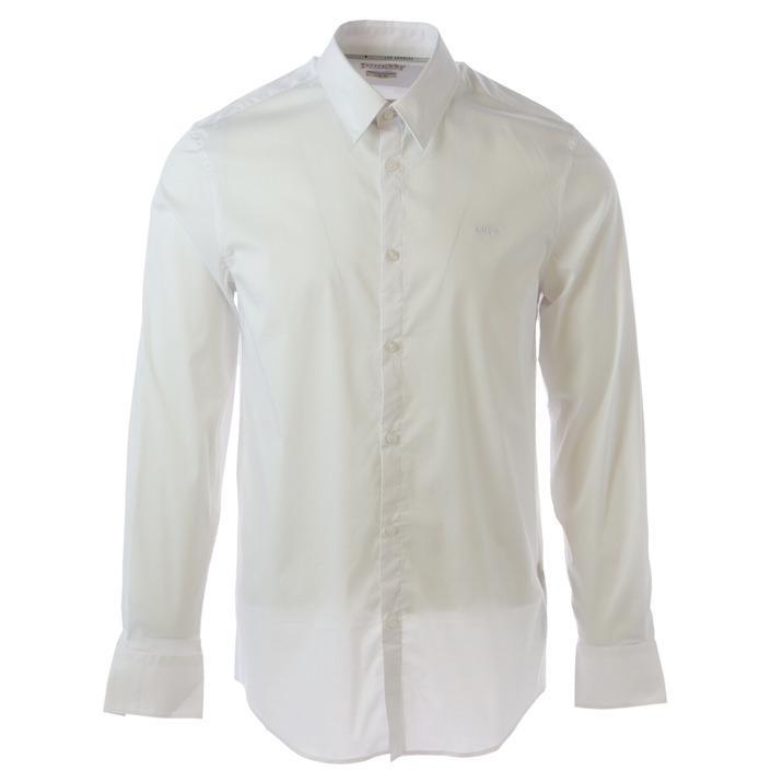 Guess Men's Shirt White 306516 - white S
