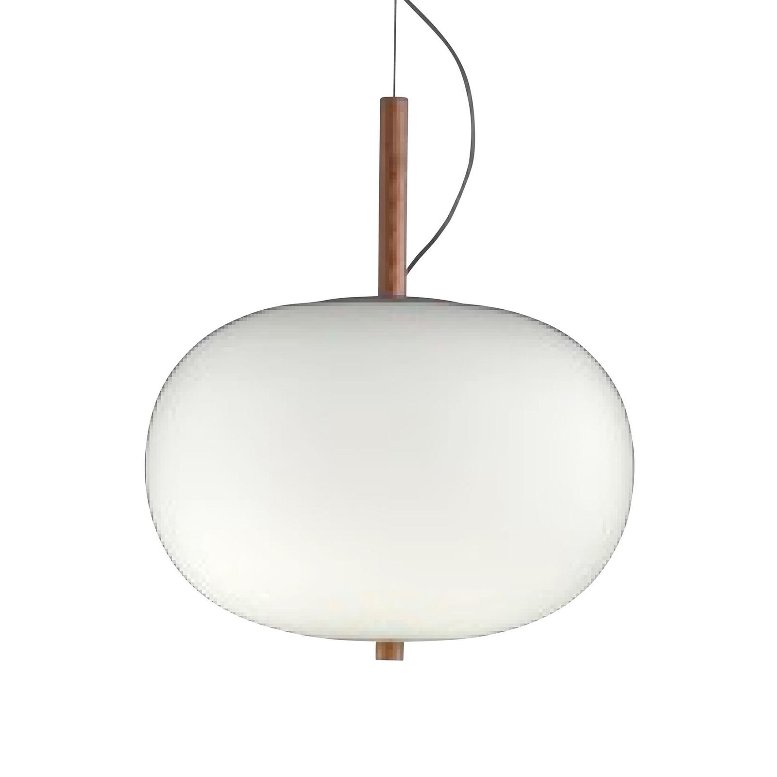Grok Ilargi -LED-riippuvalo, vaalea, Ø 32cm