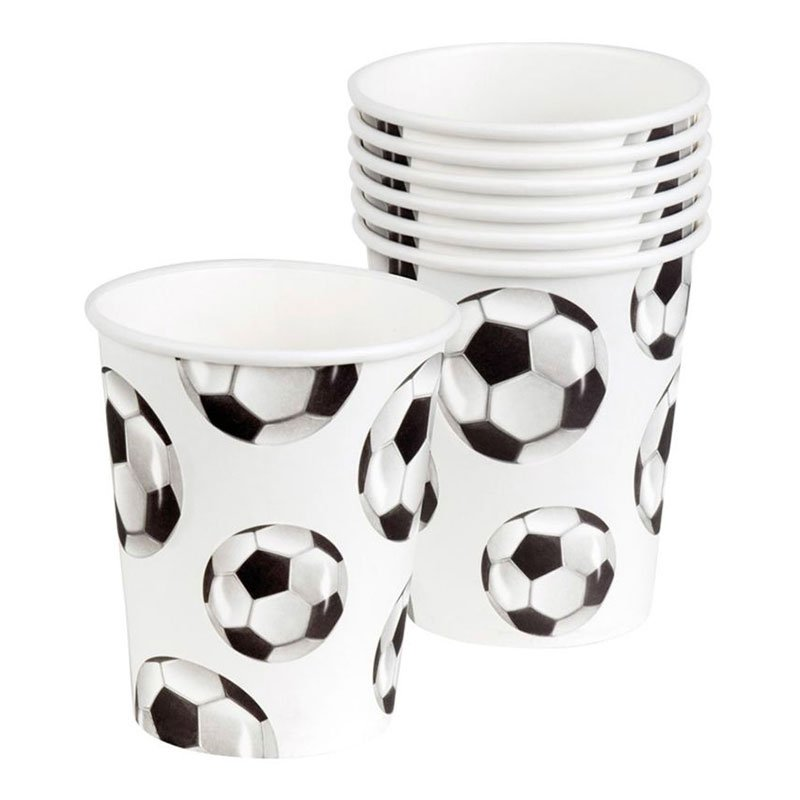 Pappersmuggar Fotbollsfest - 6-pack