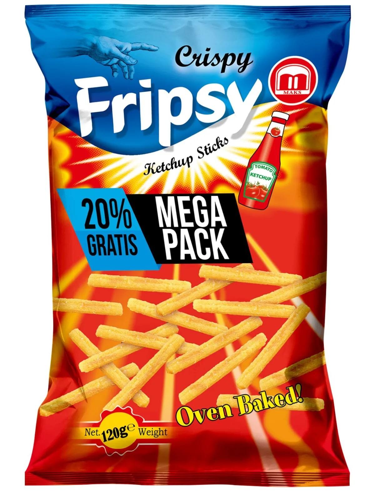 Crispy Fripsy Ketchup 120g