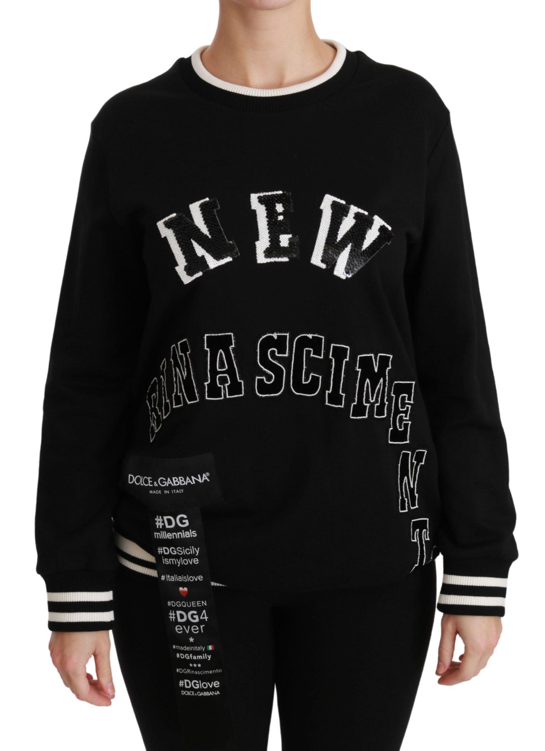 Black Rinascimento #DGmillennials Sweater - IT38|XS