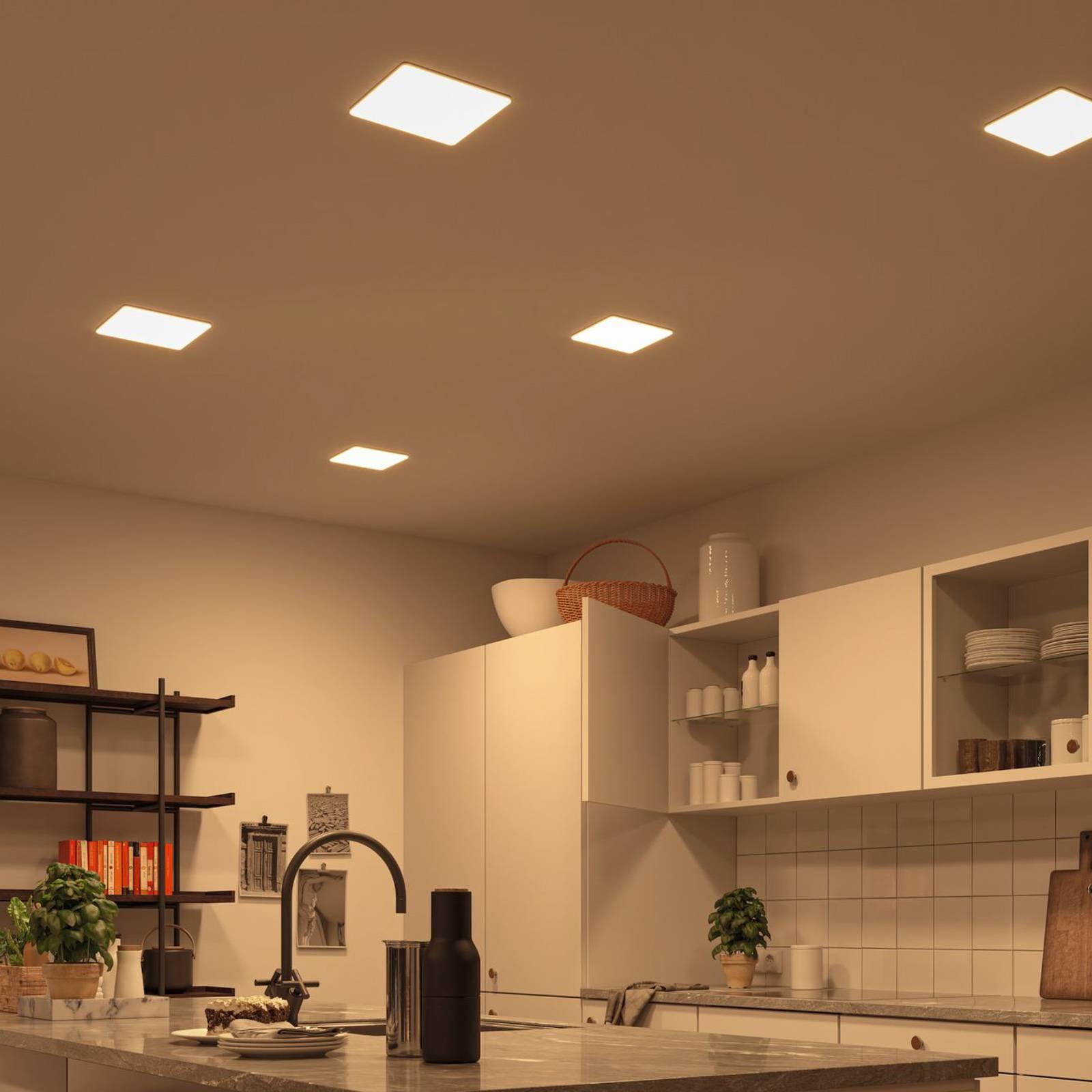 Paulmann-LED-paneeli Veluna, CCT ZigBee 21,5 cm