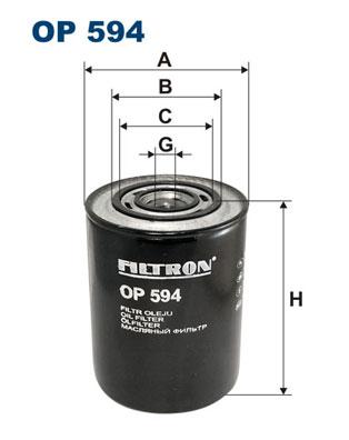 Öljynsuodatin FILTRON OP 594
