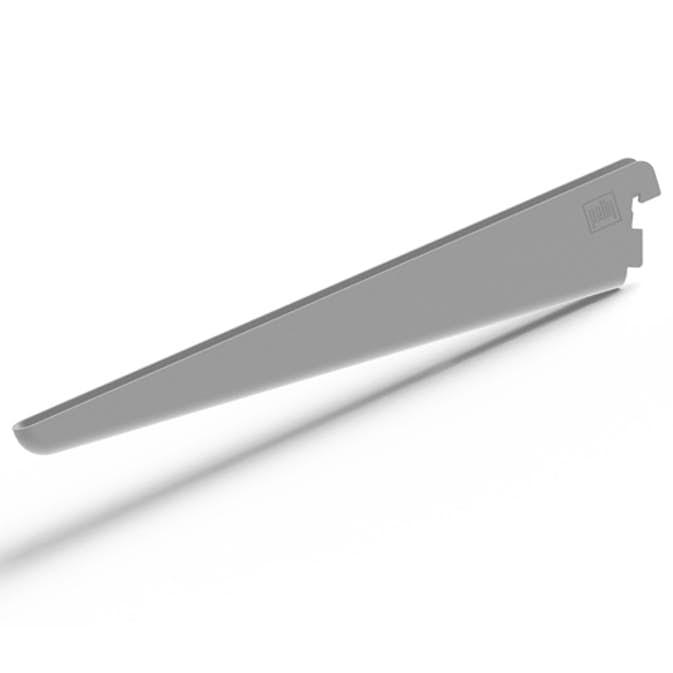 Pelly System Konsoll dobbel skråstilt Sølv