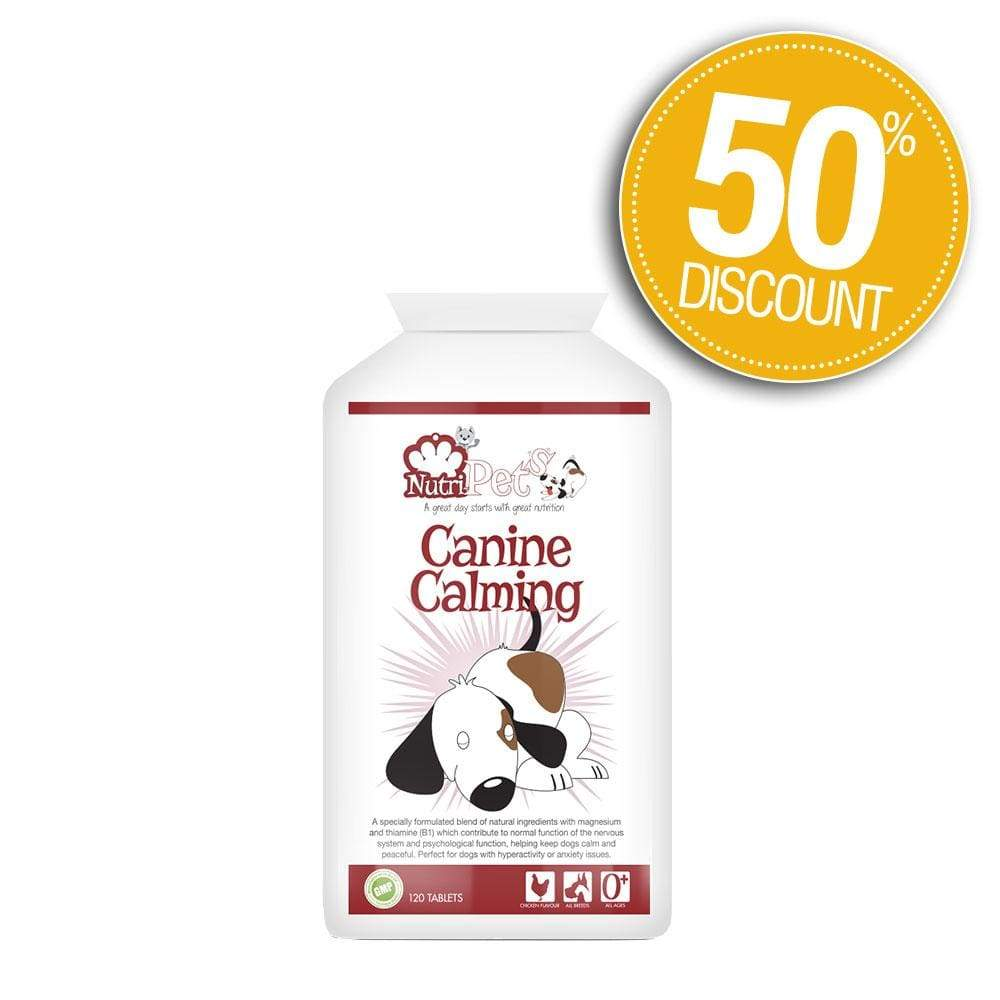 Canine Calming 50% Off