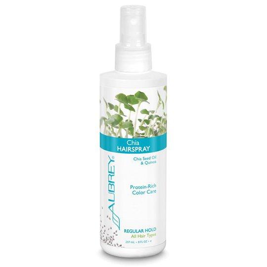Aubrey Organics Chia Hairspray Regular Hold, 237 ml