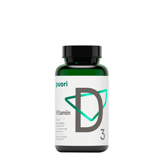 D3 D-Vitamin 400, 60 kapslar