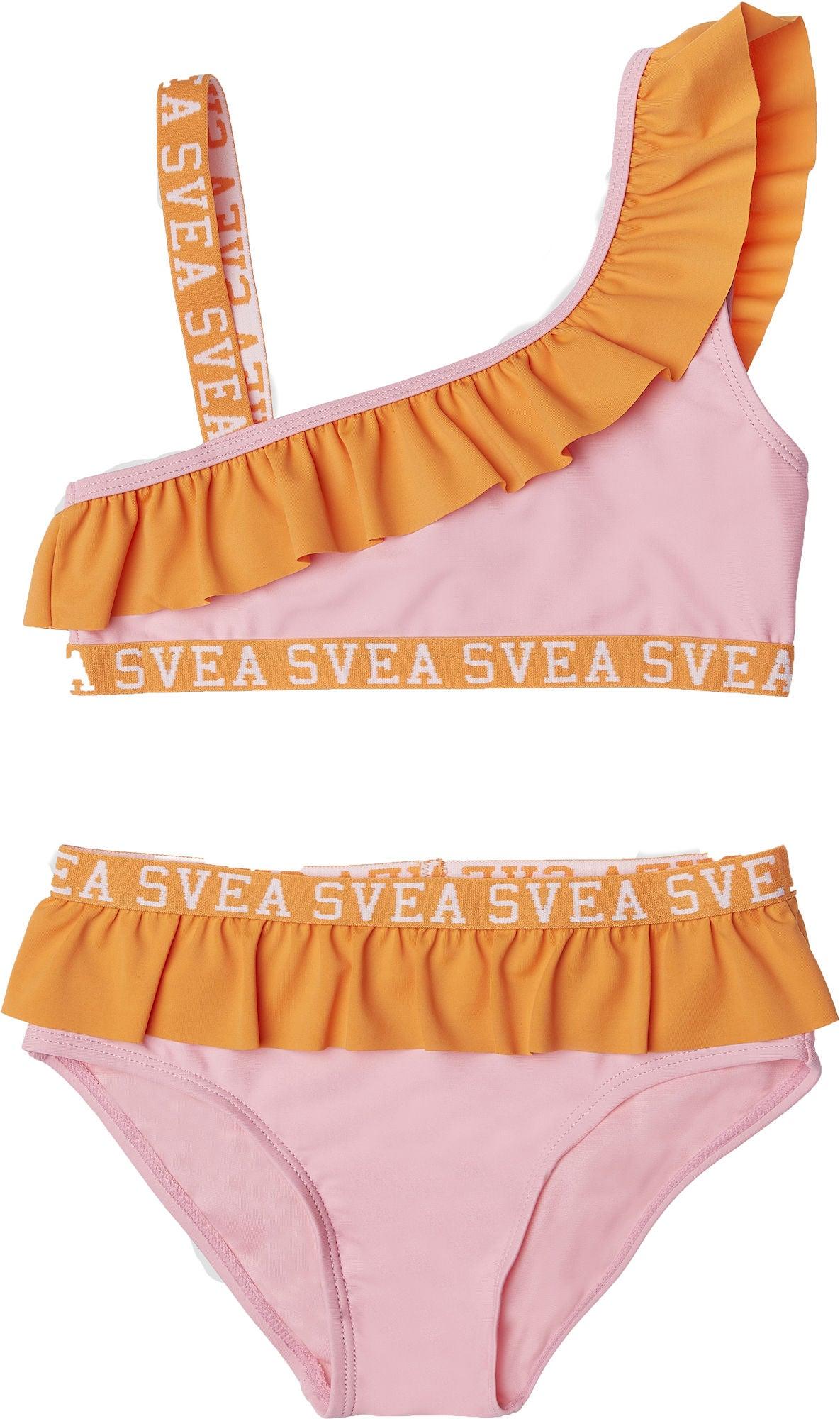 Svea Frilly Bikini, Pink, 110