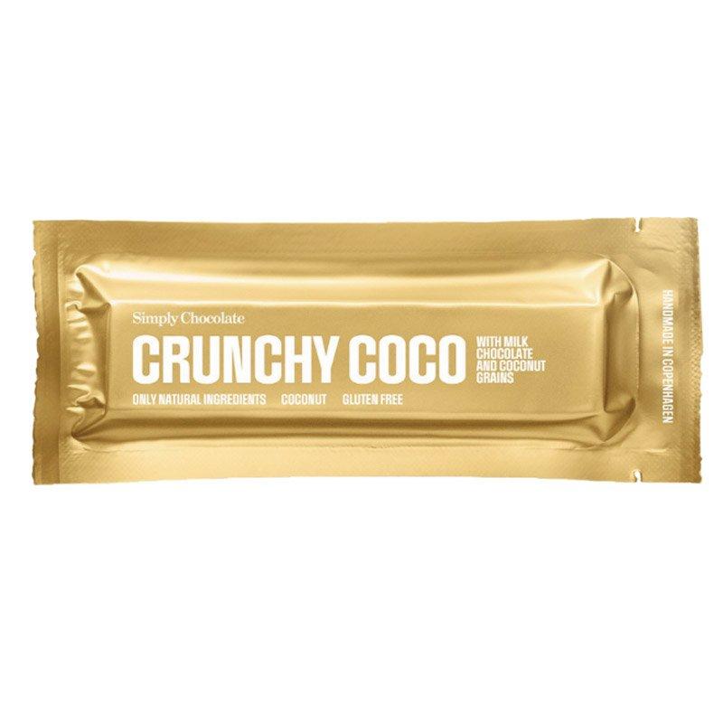 Chokladbar Crunchy Coco 40g - 48% rabatt