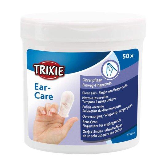 Trixie Fingerpads för Öronrengöring med Aloe Vera 50-pack