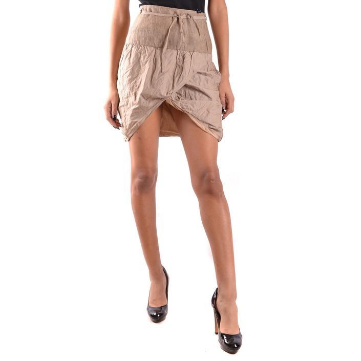 Daniele Alessandrini Women's Skirt Beige 184392 - beige 42