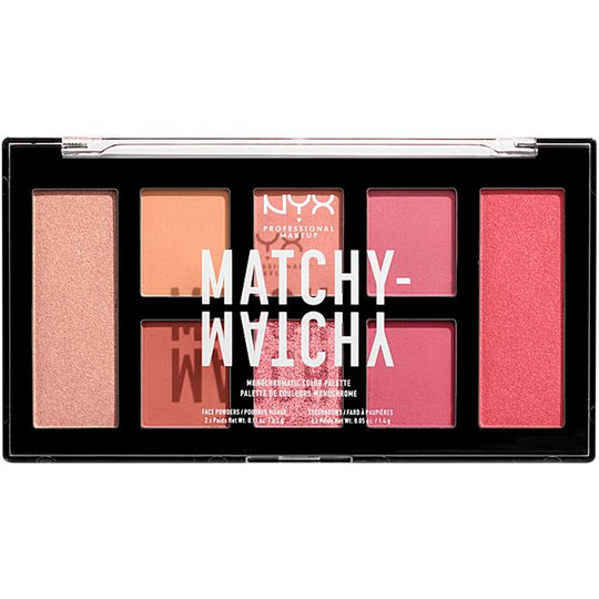 Matchy Matchy Monochromatic Color Palette, NYX Professional Makeup Luomiväripaletit
