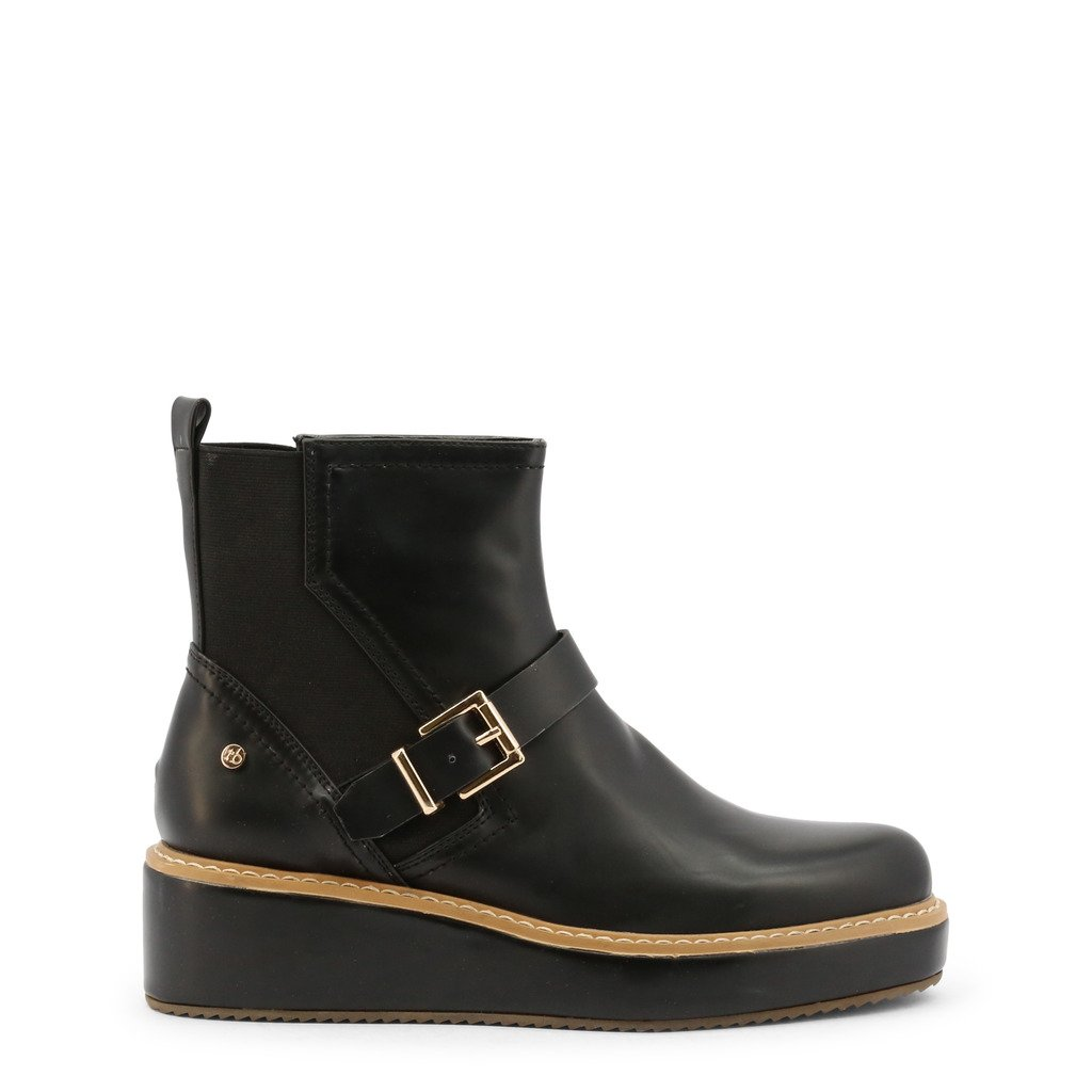 Roccobarocco Women's Ankle Boot Black RBSC1JM02STD - black EU 37