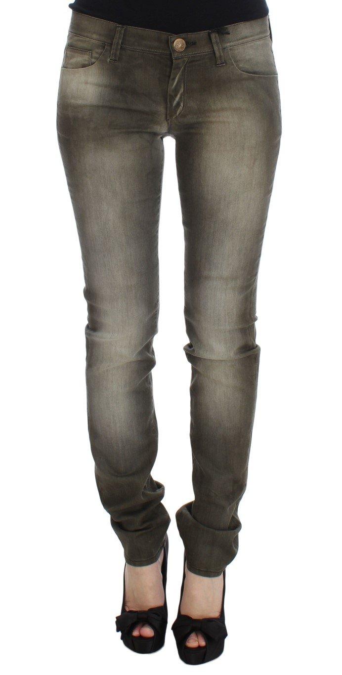 Ermanno Scervino Women's Slim Fit Jeans Grey SIG30294 - W26