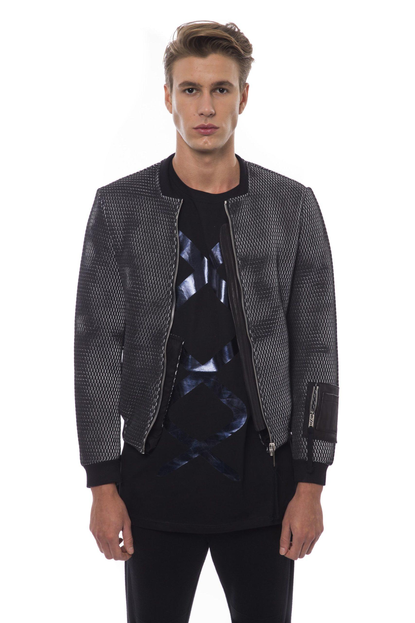 Nicolo Tonetto Men's Jacket Black NI822801 - XS